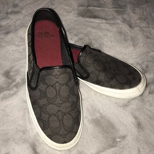 Coach Chrissy slip on shoes size 7
